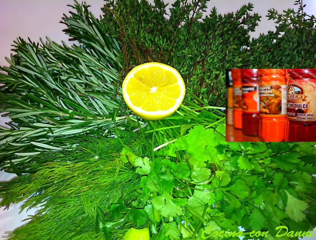 Especias y hierbas condimentarias
