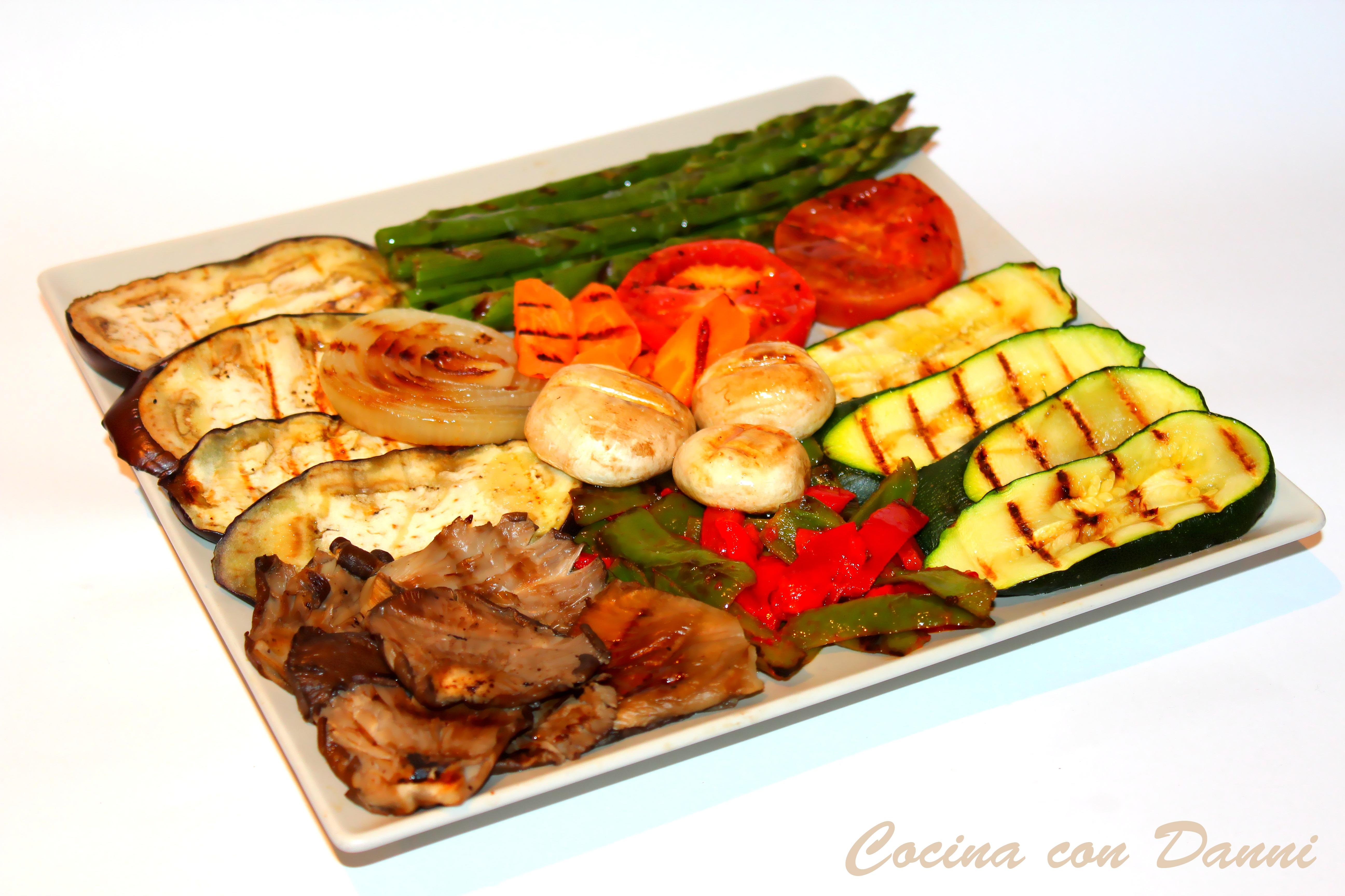 Verduras a la parrilla cocina con danni for Parrillada verduras